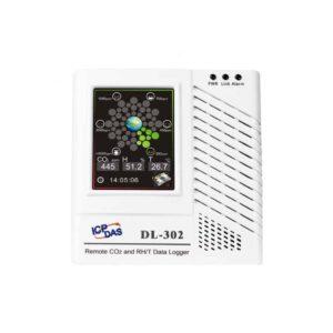 DL-302 CR : IoT Data Logger/CO2/Temp./Hum./Dew Point/LCD/Alarm