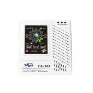 DL-303 CR : IoT Data Logger/CO/CO2/Temp/Hum/DewPoint/LCD/Alarm