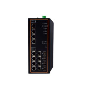 EHG7516 Series : 16-Port High-Bandwidth Industrial Managed Gigabit PoE Switch