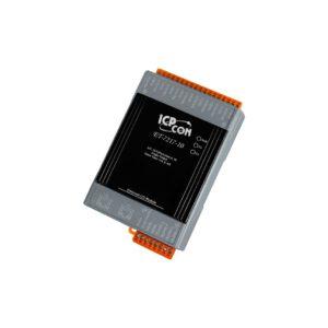 ICP DAS ET-7217-10 CR : Ethernet I/O Module/Modbus TCP/10-20AI/2 LAN