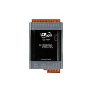 ET-7217 CR : Ethernet I/O Module/Modbus TCP/8AI/4DO/2 LAN