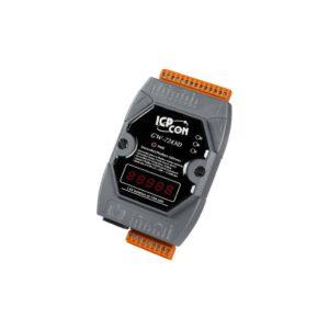 ICP DAS GW-7243D-G CR : Gateway/DeviceNet Sla./Modbus Mas/RS232/485/Ether.