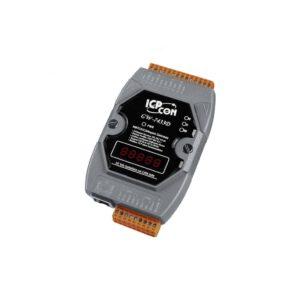 ICP DAS GW-7433D-G CR : Gateway/CANopen Master/Modbus TCP/RTU/RS232