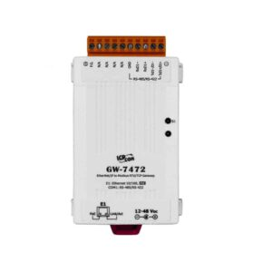 GW-7472 CR : Gateway/EtherNet IP/Modbus TCP/RTU/PoE/RS422/485