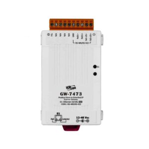 GW-7473 CR : Gateway/Modbus Sla./EtherNet/IP Scan/PoE/RS422/485