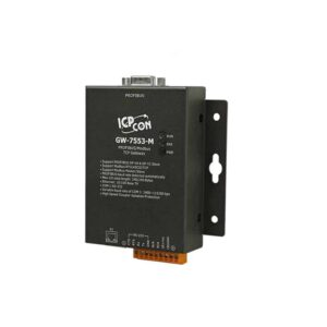 GW-7553-M CR : Gateway/PROFIBUS/Modbus TCP/Metal