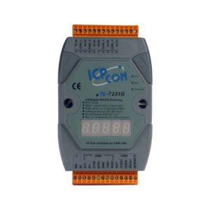 ICP DAS I-7231D-G CR : Gateway/CANopen Slave/DCON Master/LED