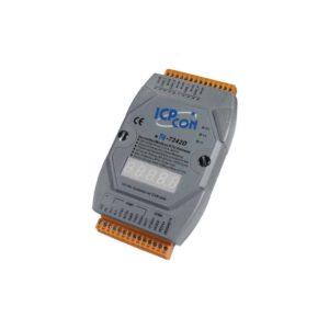 ICP DAS I-7242D-G CR : Gateway/DeviceNet Slave/ModbusRTU Master/LED