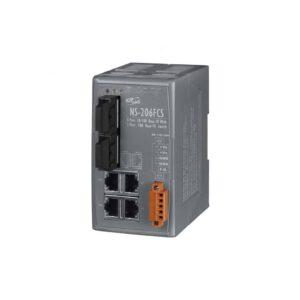 NS-206FCS CR : Ethernet Switch/4 Ethernet/2 Fiber/SC/Si-Mode/15km
