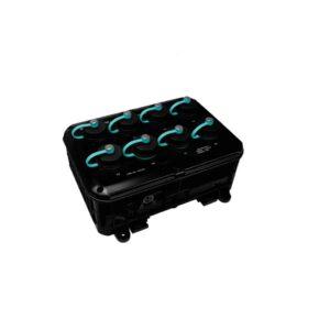 NS-208PSE-IP67 CR : PoE Switch/8 PoE/IP67 Casing