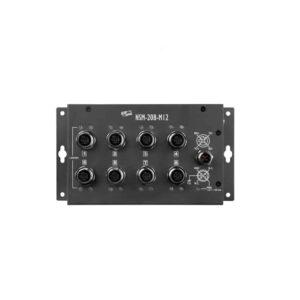 NSM-208-M12 CR : Ethernet Switch/8-Port/M12/Metal