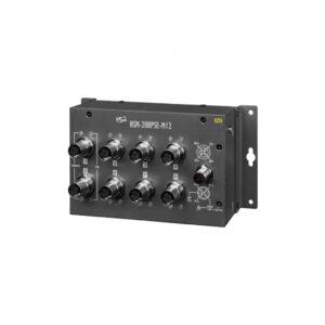 NSM-208PSE-M12 CR : PoE Switch/8 Ports/M12/Metal