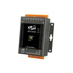 ICP DAS PET-7H16M CR : POE I/O Module/Modbus TCP/8AI/4DI/4DO/HighSpeed