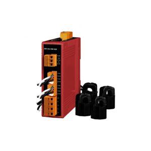 ICP DAS PM-3114-100-MTCP CR : Power Meter/Ethernet/Modbus TCP/4 loops/60 A