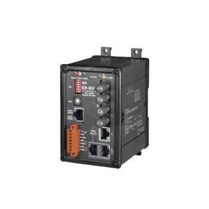 RSM-405FT CR : Switch/Ethernet/Redun/5ports/2Fiber/Multi/ST/Metal