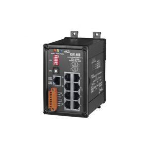 RSM-408 CR : Switch/Ethernet/Redundant/8 ports/Metal