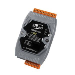 WISE-7117 CR : IoT Controller/Modbus TCP/8 AI/4DI/isol