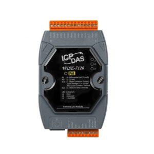 WISE-7126 CR : IoT Controller/Modbus TCP/6AI/2AO/2DI/2DO