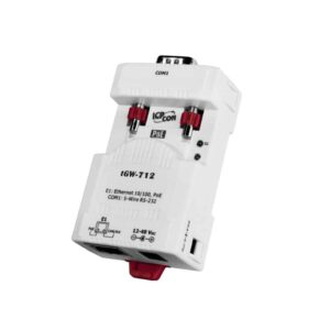 tGW-712 CR : Tiny/Gateway/Modbus RTU/TCP/PoE/1 RS-232