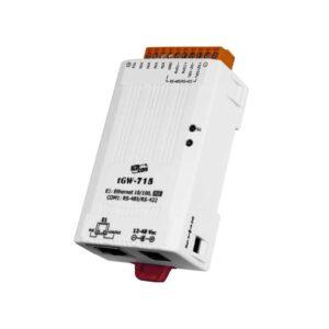 tGW-715 CR : Tiny/Gateway/Modbus RTU/TCP/PoE/1 RS-422/485