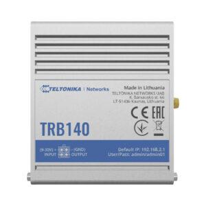 TRB140 Industrial Ethernet to 4G LTE IoT Gateway